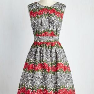 Emily and Fin Modcloth Roses dress